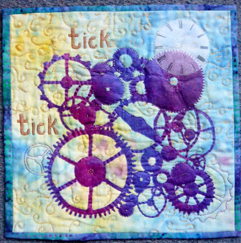Joan Brailsford Clock Works Fifteen By Fifteen