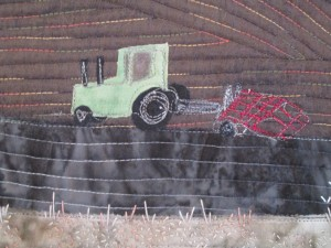One Step Ahead - Tractor Detail